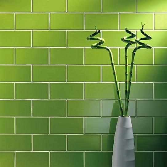 Lee Caroline A World Of Inspiration Kitchen Tile Inspiration - Avocado-green-bathroom-tile