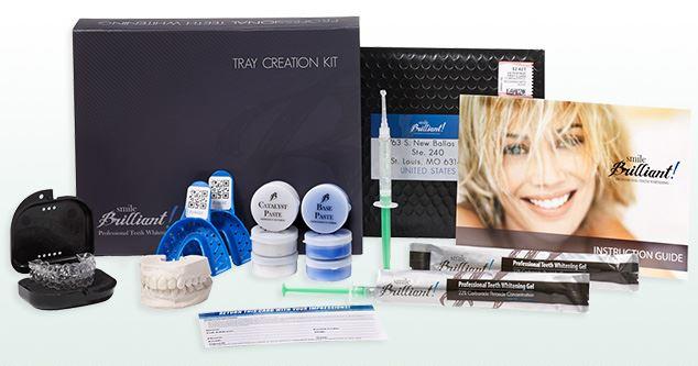 Smile Brilliant Custom, Lab-fitted Teeth Whitening Kit