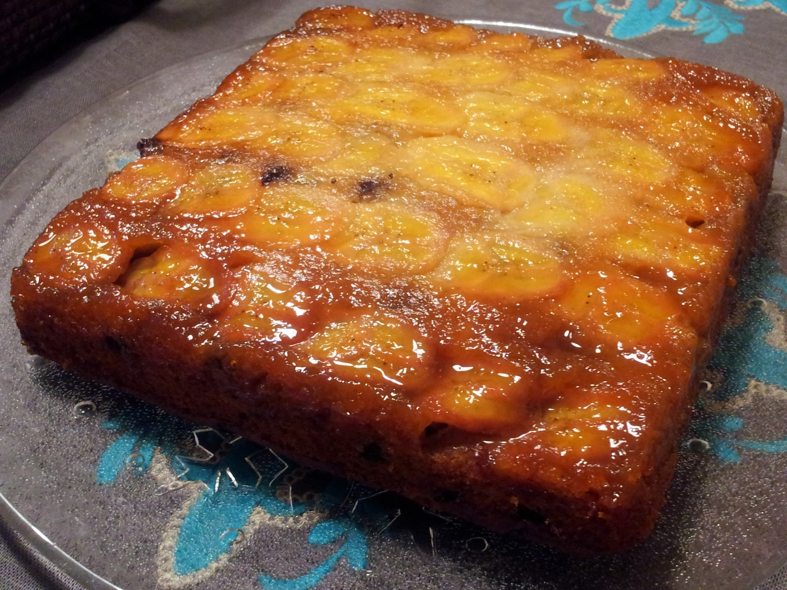 Bill Granger's Banana Maple Upside-Down Cake Recipe — Dishmaps
