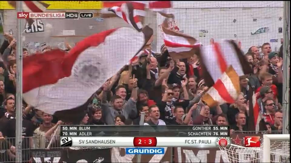 SV Sanhausen 2:3 FC St Pauli - Importante vitória deixa o time em condições de sonhar