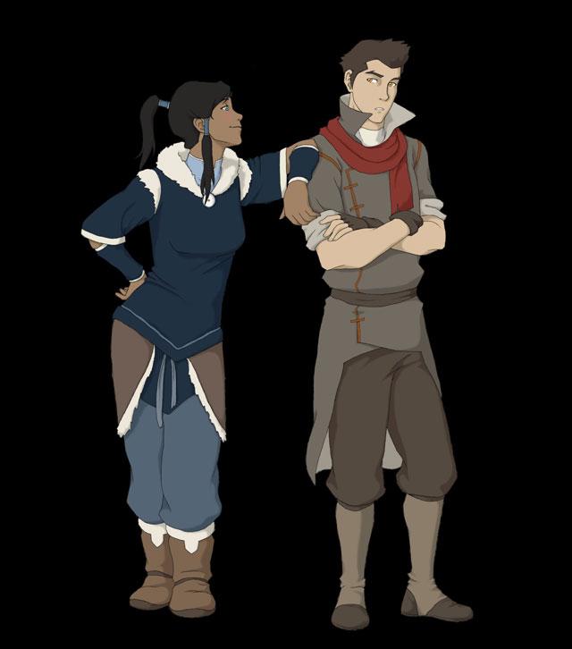 Korra and Mako ?