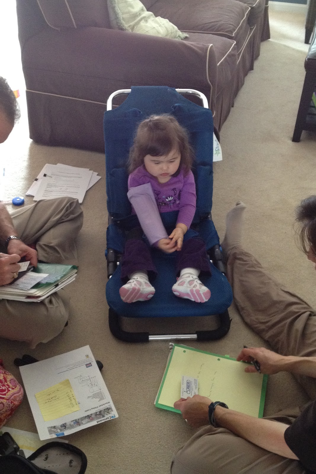 Making our way through Rett Syndrome : Adaptive Equipment