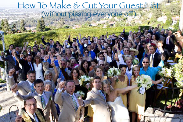 How to Make & Cut Your Guest List | photo by Jennifer Roper