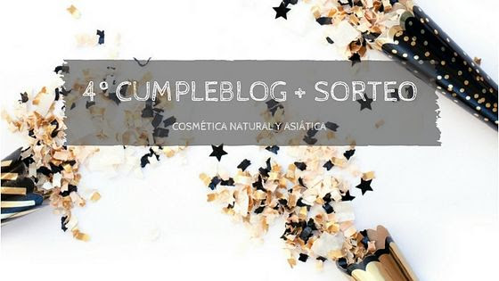 4º CUMPLEBLOG + SORTEO I
