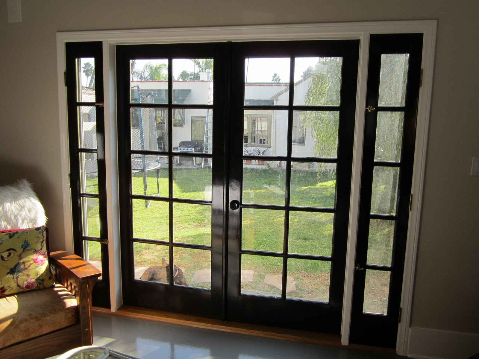 Nice Painted French Doors Images