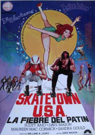 Skatetown USA, La fiebre del patín, Patrick Sawayze, Scott Baio, Greg Bradford