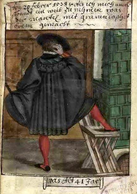 La chaise pliante (Château de la Rochelambert) fin XVe  Matthaus%2Bschwarz%2Bof%2Baugsburg%2Bat%2B1538%2Btenaglia