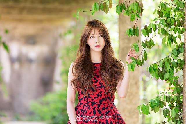 1 Han Ga Eun - Lovely Ga Eun In Outdoors Photo Shoot - very cute asian girl-girlcute4u.blogspot.com