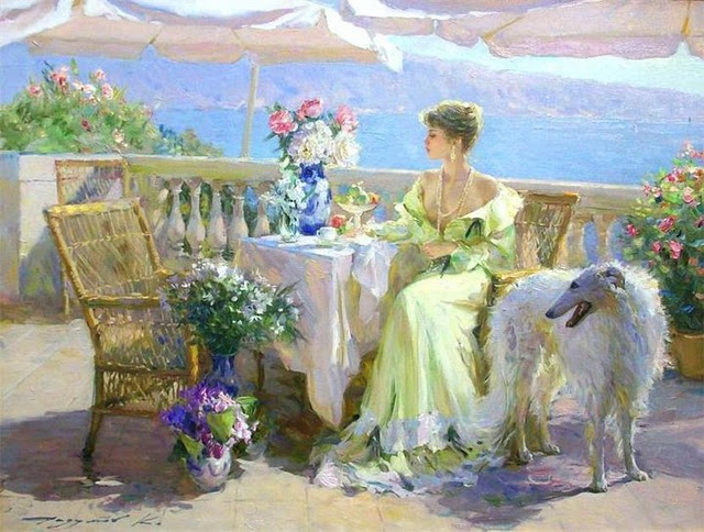 Maher art gallery konstantin razumov russian impressionist for Art contemporain russe