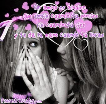 frases para facebook de amistad