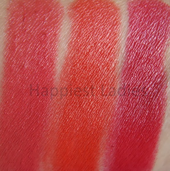 Calvin Klein Lipstick  Bold Color Swatches