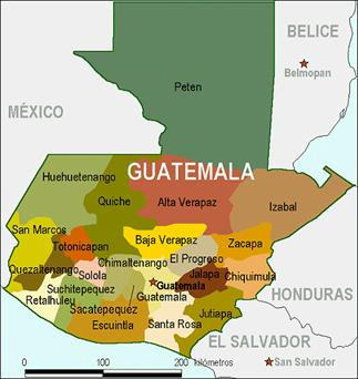 An Expat Family And Their Adventures Indigenous Guatemalan - Departments map of guatemala