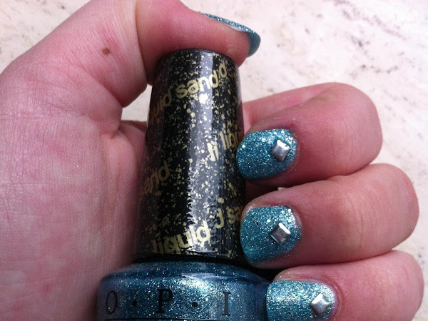 NOTD: Tiffany's studded case.