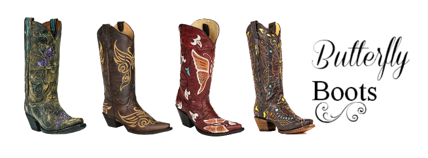 Butterfly Cowgirl Boots | Cassidy Magazine™