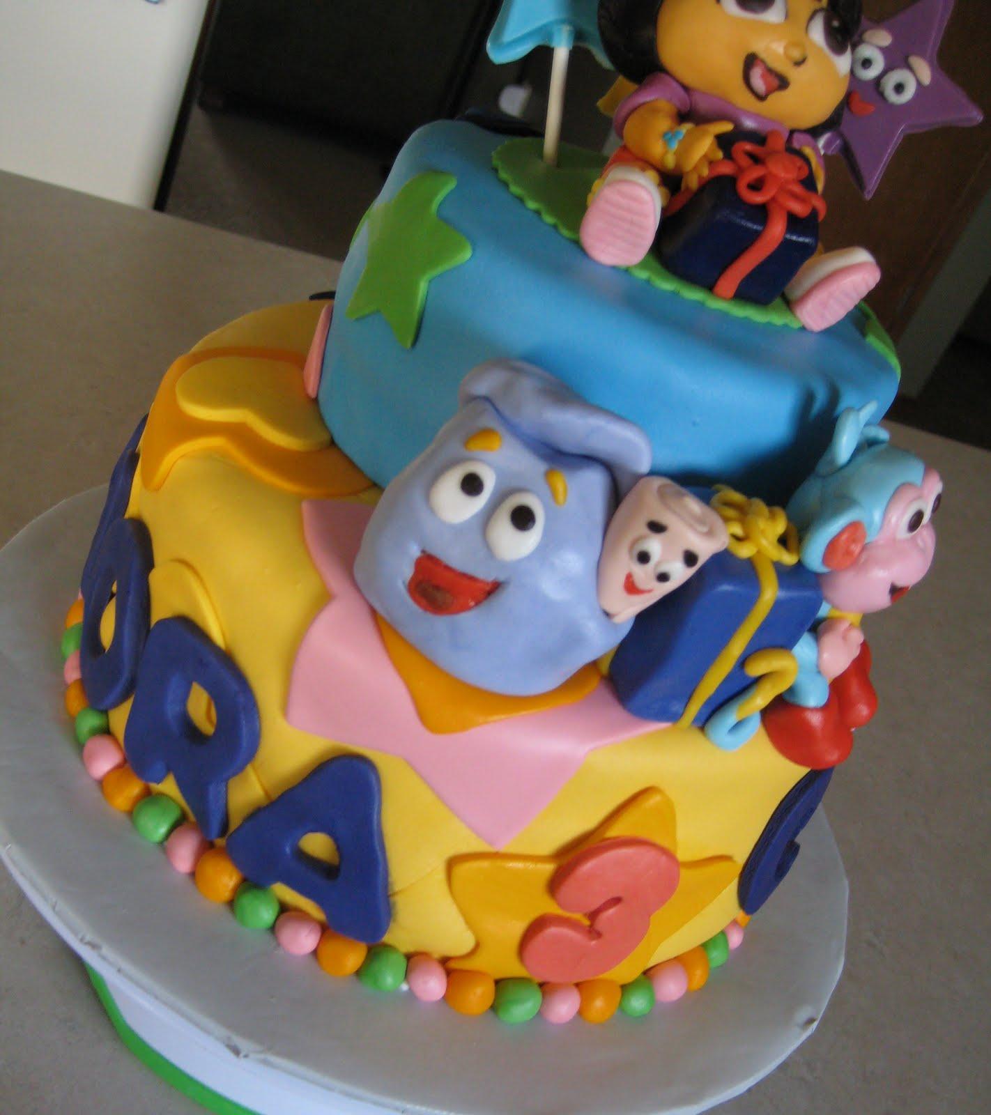 Dora Cakes And Cupcakes