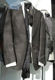 So gorge! Tom Ford cloth jackets and scarves.