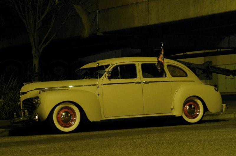 California streets san jose street sighting 1941 dodge for 1941 dodge 4 door sedan