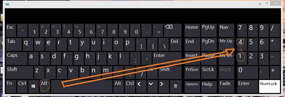 how to make symbols with keyboards