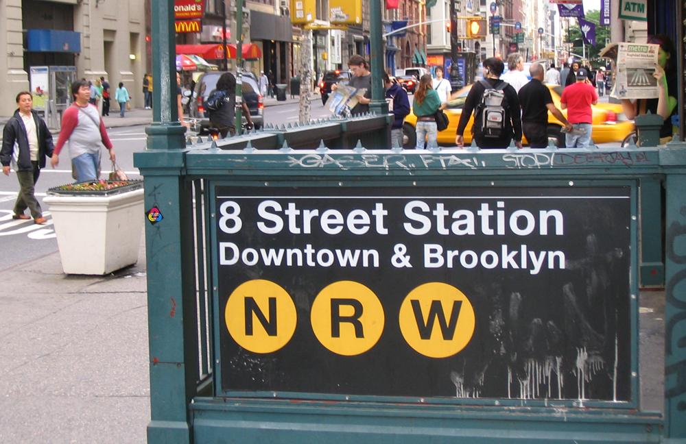 Метро Нью-Йорка (+схема)