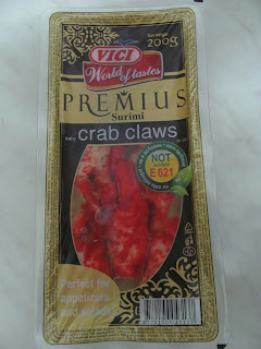 baby crab claws