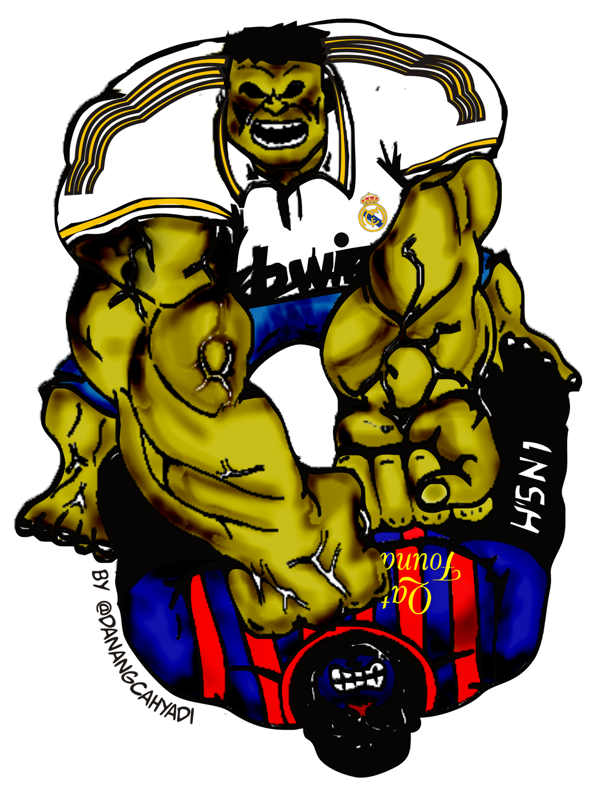 DDC Journal Madridista Atau Barcelonistas