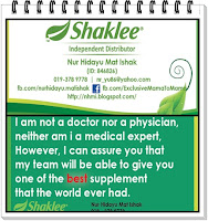 SHAKLEE - ID NO 846826