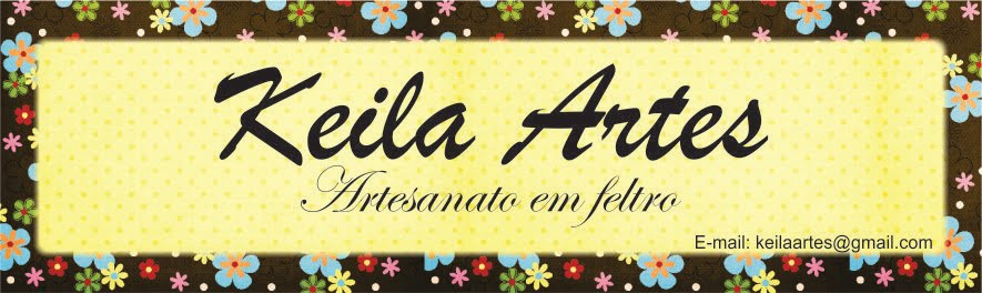 Keila Artes - artesanato em feltro