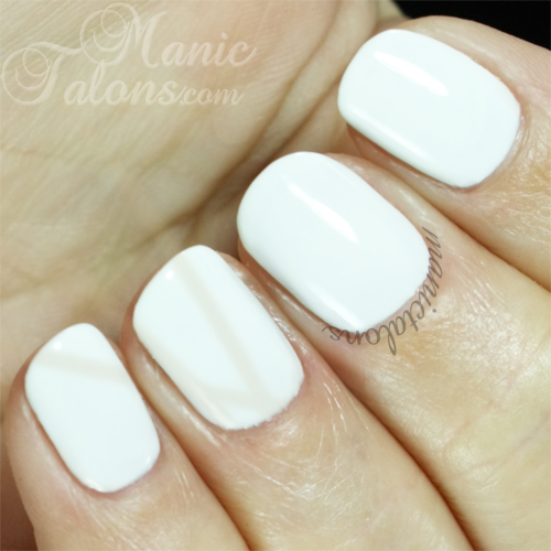Purjoi One Step Gel Polish French White Swatch
