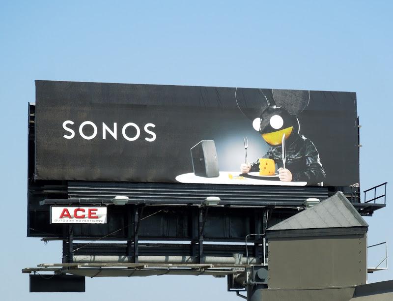 Sonos mouse bilboard