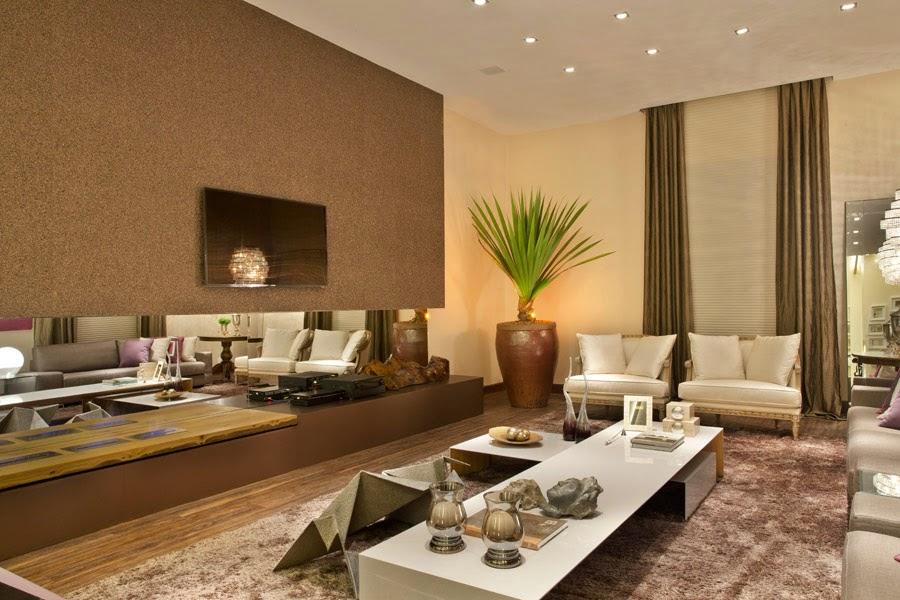 Blog Decoracao Sala De Tv ~ 20 Salas de tv com lareira – tendência do momento! Veja modelos e