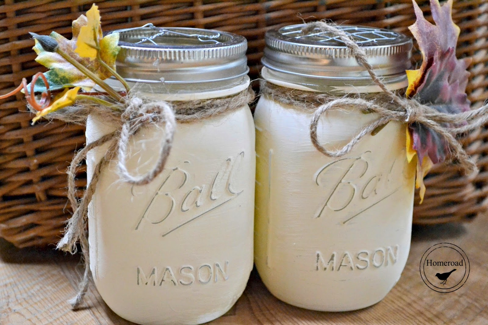 Painted Mason Jars Homeroad Painted Fall Mason Jars