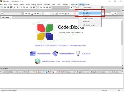 Konfigurasi Library MPI di CodeBlocks