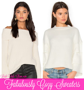 Fabulously cozy sweaters to keep you stylish & warm.