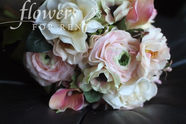 flowers for rent soft pink wedding flowers. Black Bedroom Furniture Sets. Home Design Ideas