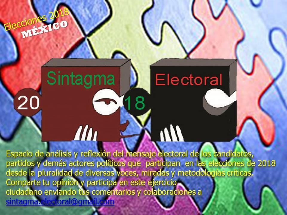 Sintagma electoral 2018