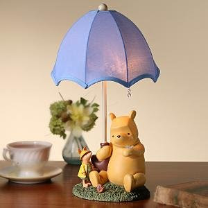 Winnie the Pooh Lamp Light with Piglet Photo