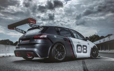 Στην έκθεση της Φρανκφούρτης το Peugeot 308 Racing Cup