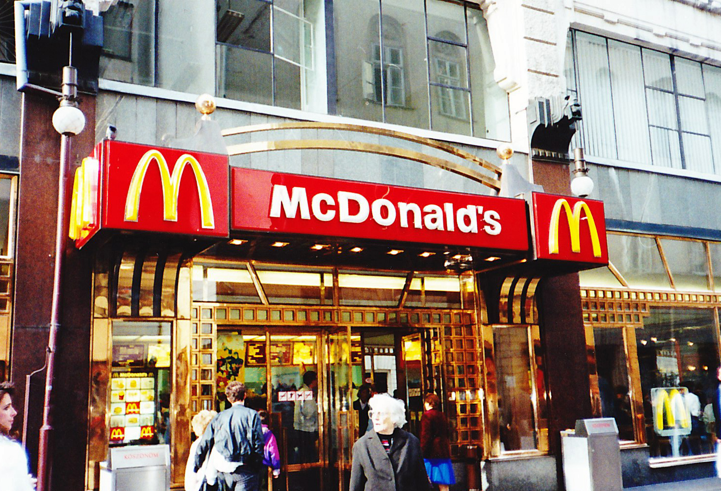 McDonald's in Budapest