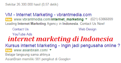 gambar iklan internet marketing indonesia