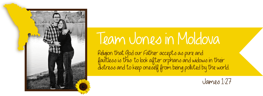 Team Jones in Moldova