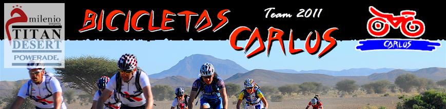 Bicicletas Carlos en la Titan Desert 2011