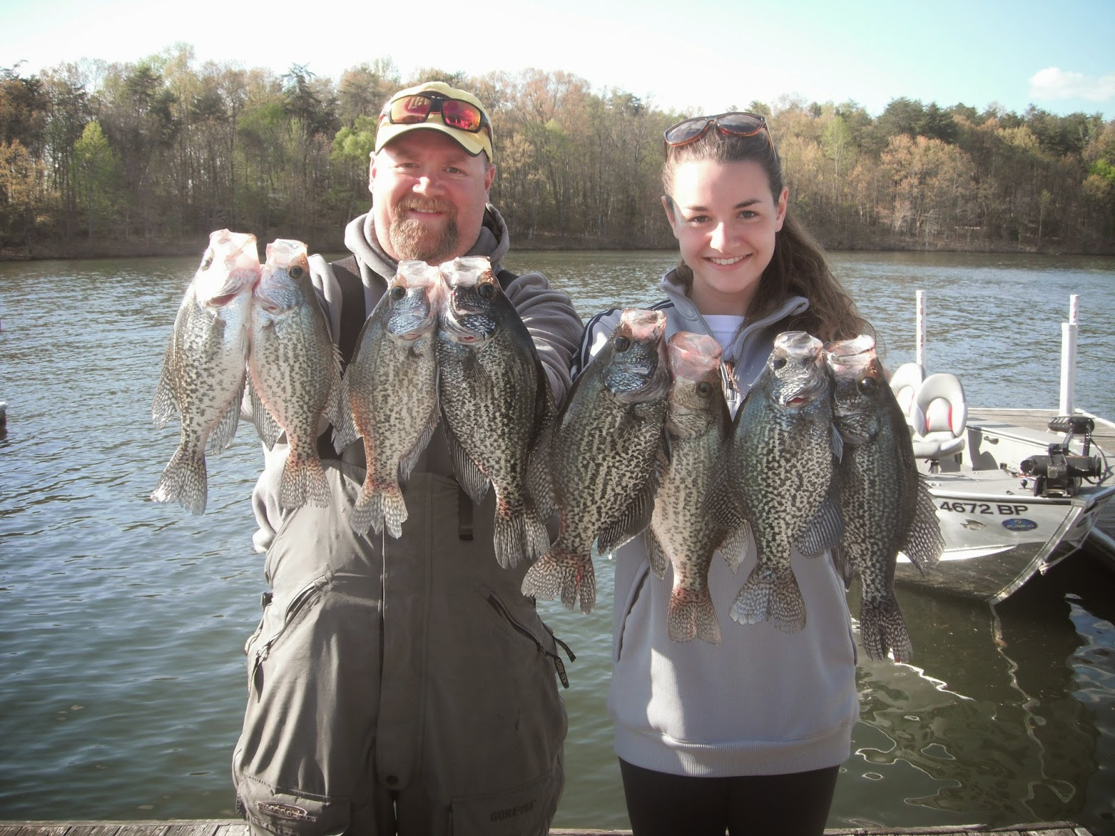 April crappie fishing chris craft lake anna guide blog for Lake anna fishing
