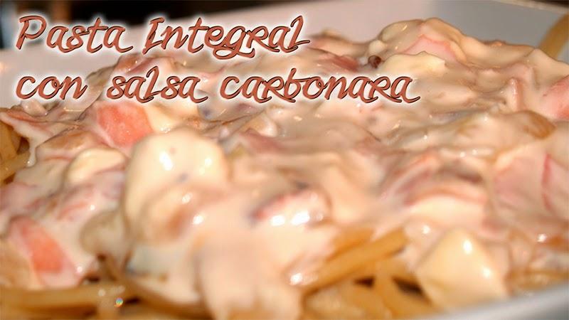 pasta integral carbonara dukan