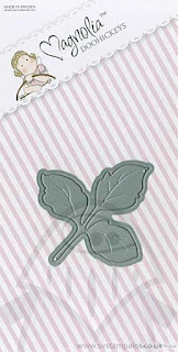 Die - Magnolia - Rose Leaf
