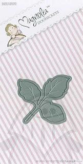 Die - Rose Leaf