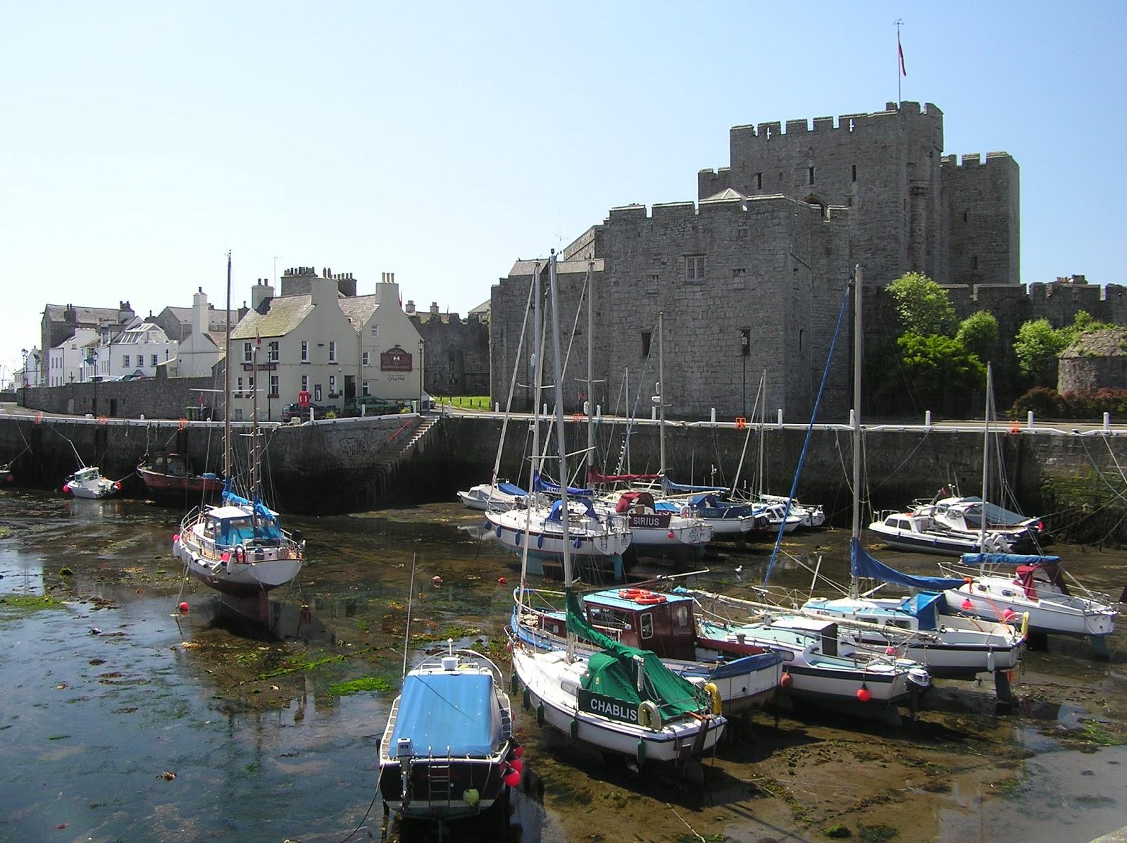 Isola Di Man Castle Rushen E Castletown Emotion