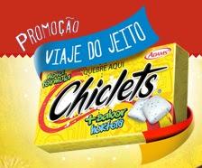 Promoção Chiclets, Viaje no jeito Chiclets