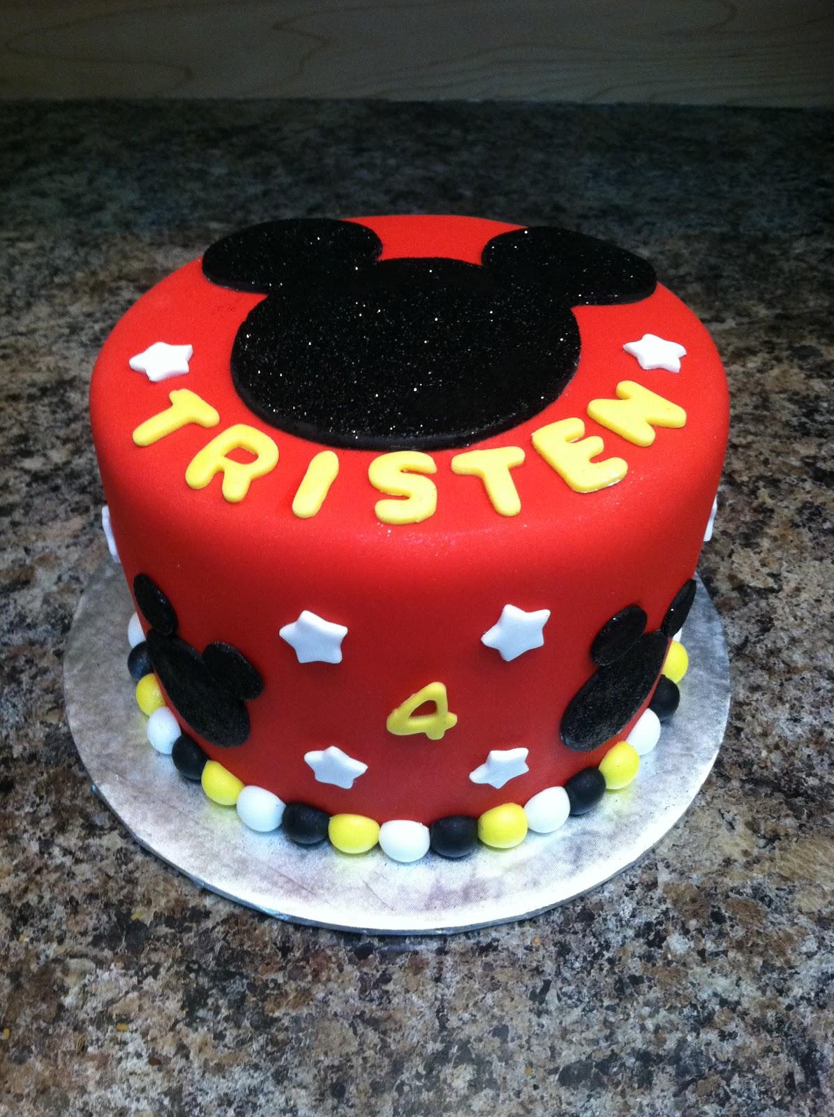 Custom Cakes By Denise Mickey Happy Birthday