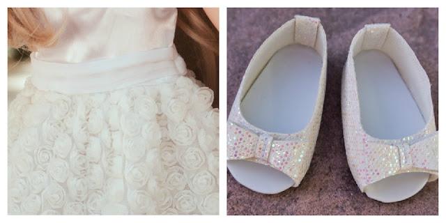 Princess Kate's wedding dress for dolls