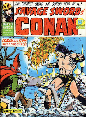 Marvel UK, Savage Sword of Conan #16, Elric